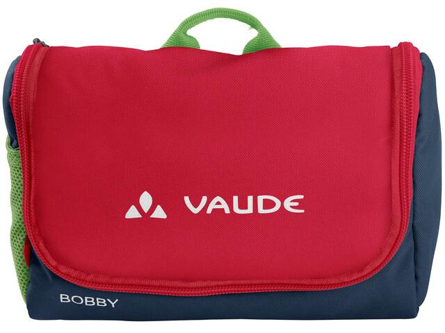 VAUDE Bobby Toiletry Bag Kids marine/red